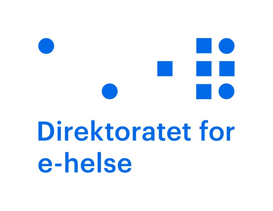 Logo for Direktoratet for e-helse